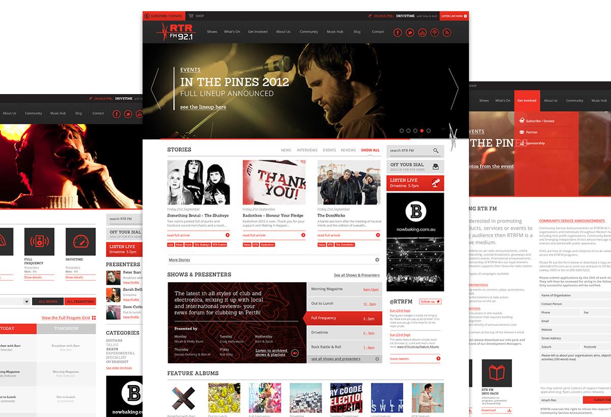 RTRFM WordPress Development